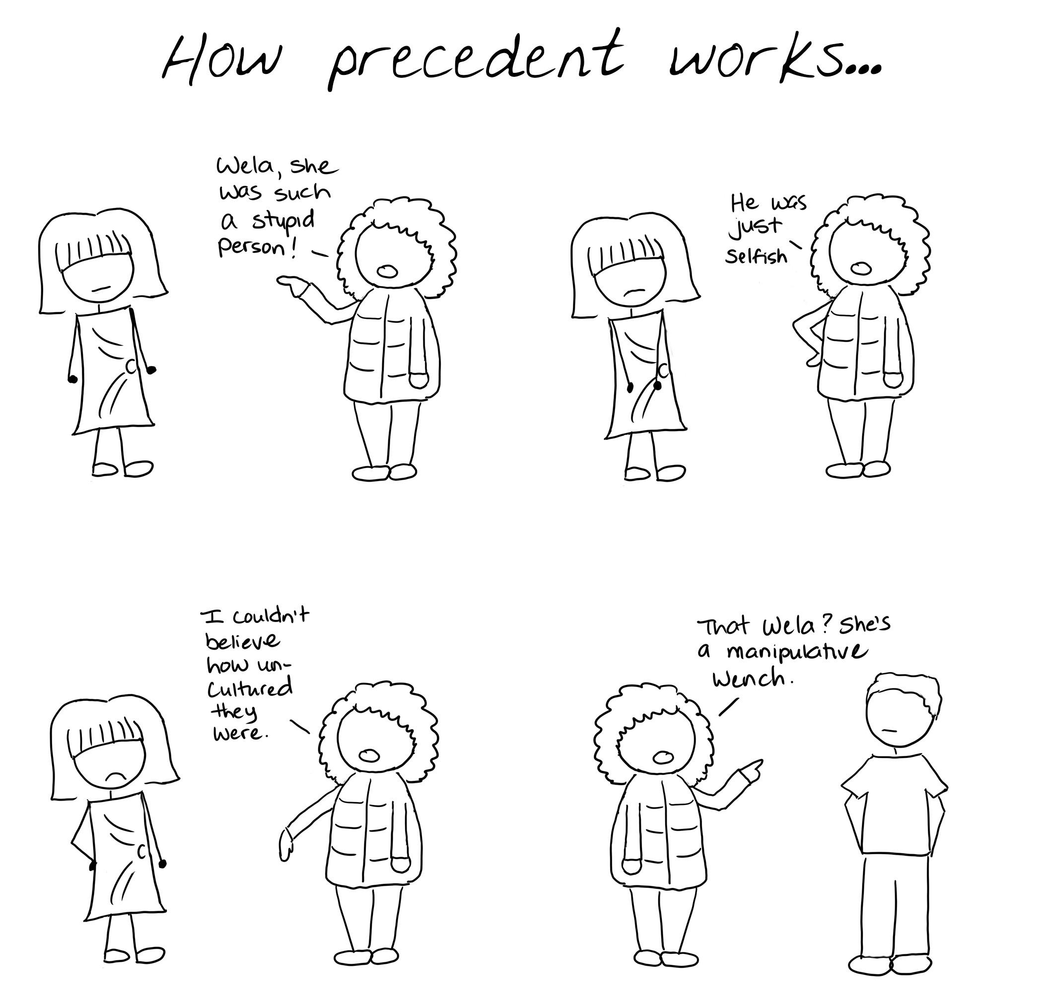067 - Precedent