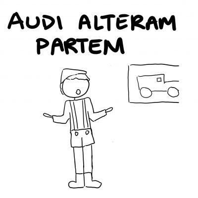 076 - Audi Alterum Partem - square