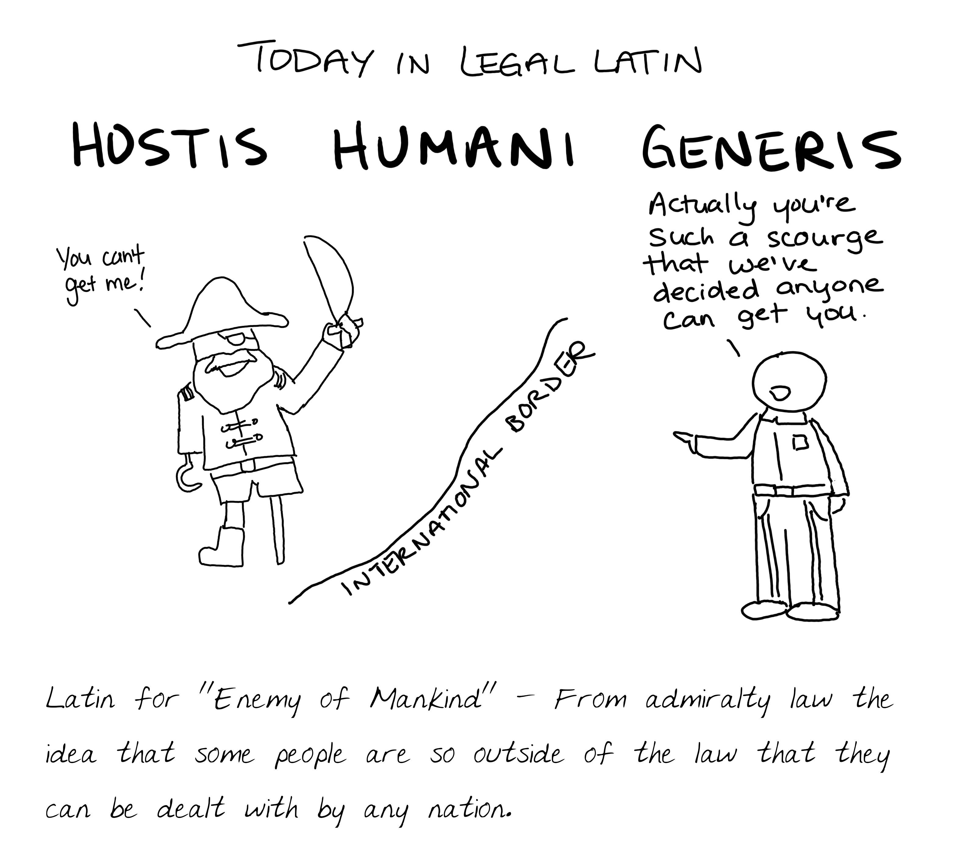 Hostis Humani Generis