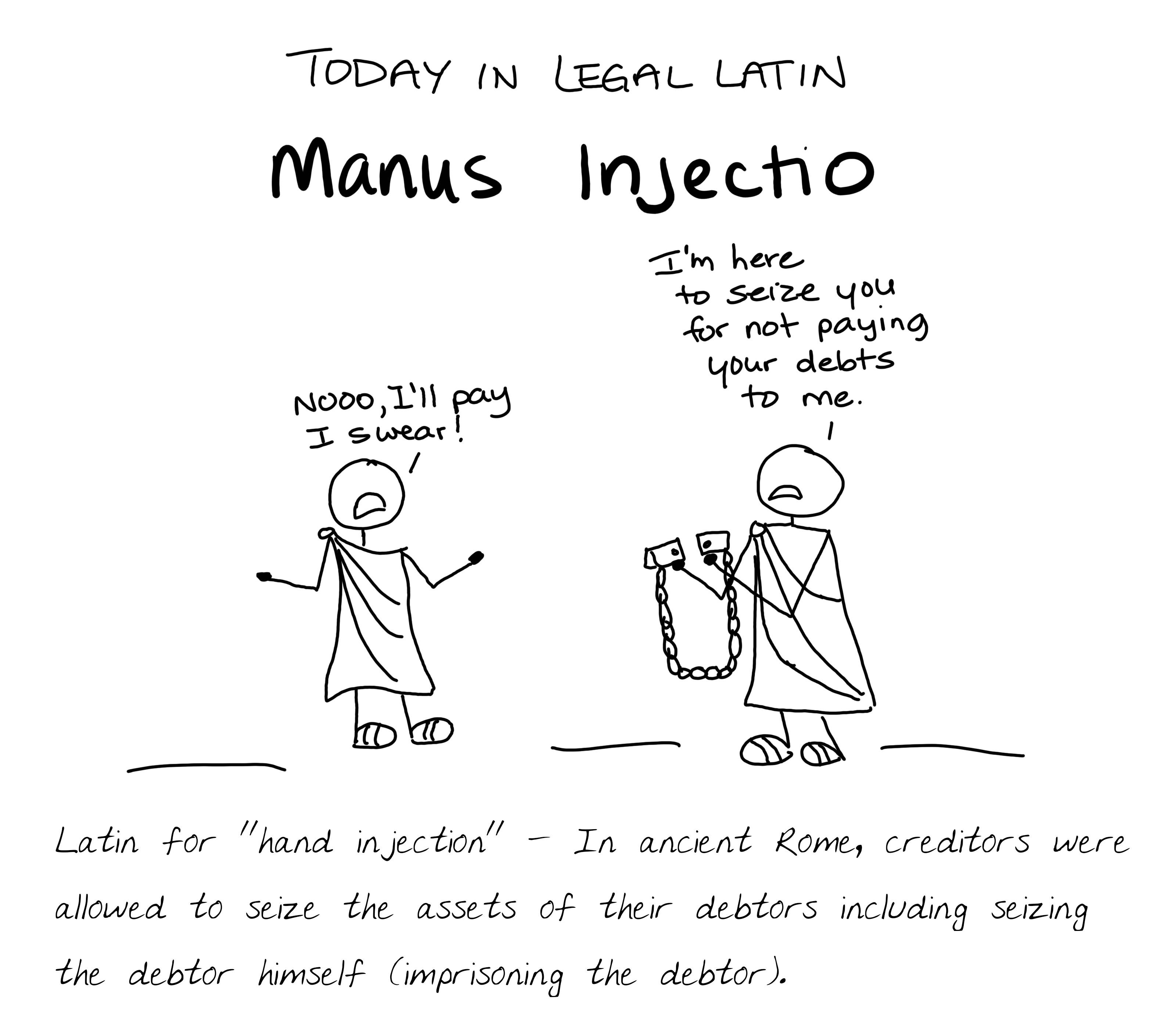 Manus Injectio